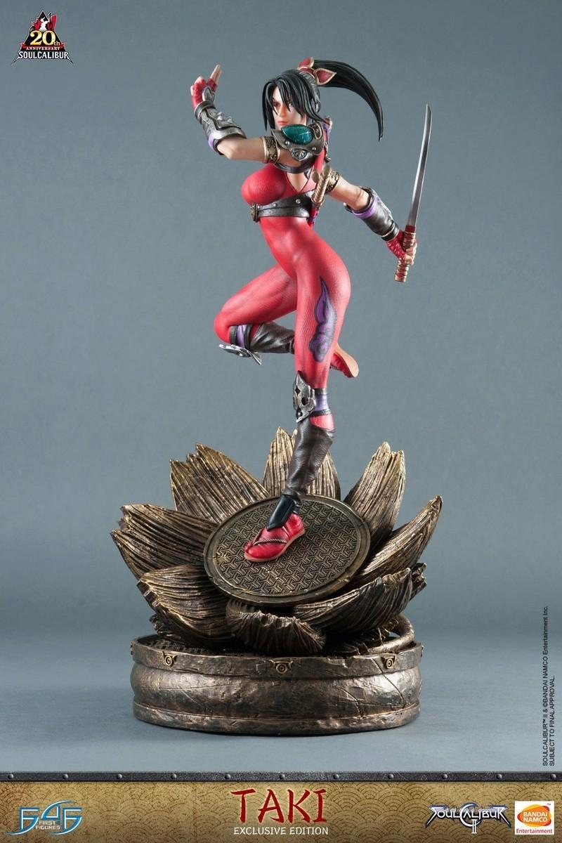 Soul Calibur II - Taki - First 4 Figures Vertic28