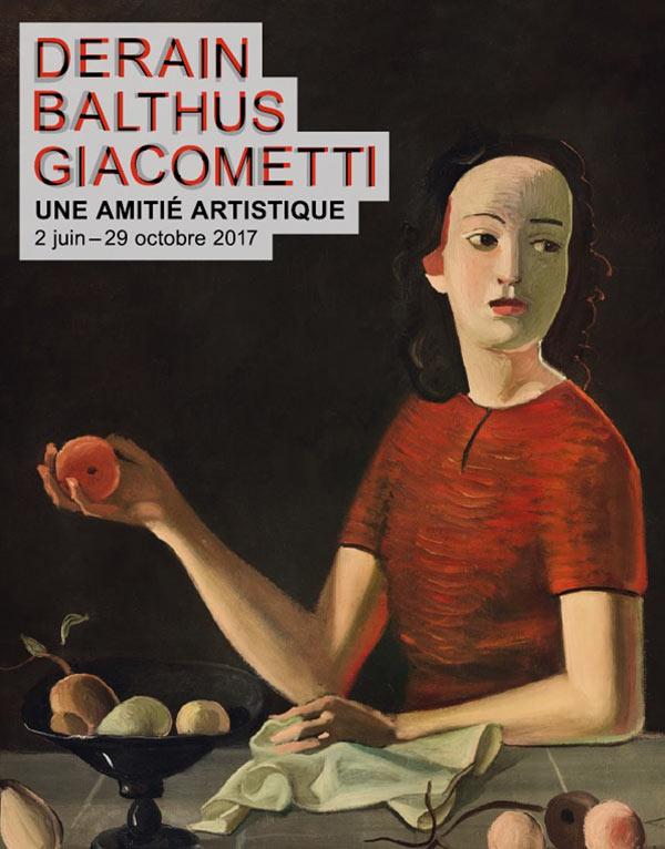 Derain, Balthus, Giacometti Une amitié artistique (Musée d'Art moderne) Balthu10