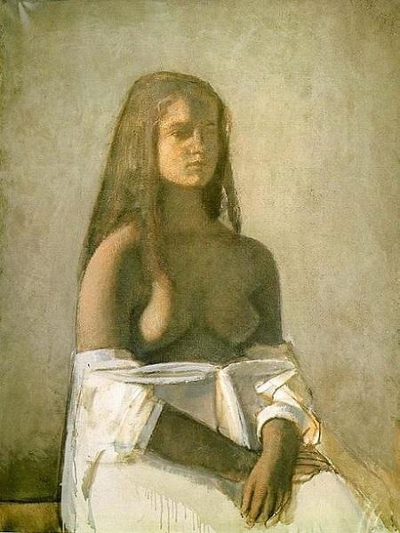 Derain, Balthus, Giacometti Une amitié artistique (Musée d'Art moderne) Balthu12