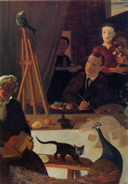 Derain, Balthus, Giacometti Une amitié artistique (Musée d'Art moderne) Derain10