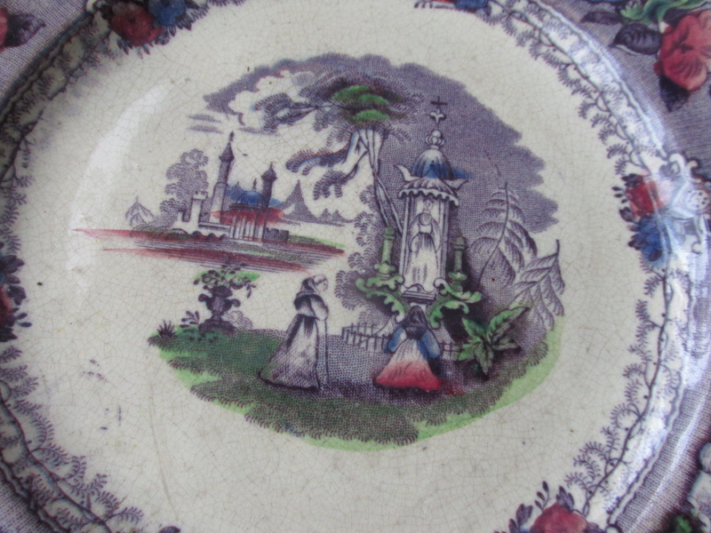 J.T. ANDALUSIA. Made by Annfield Pottery i CAN NOT FIND THE PLATE LIKE THIS Img_0011