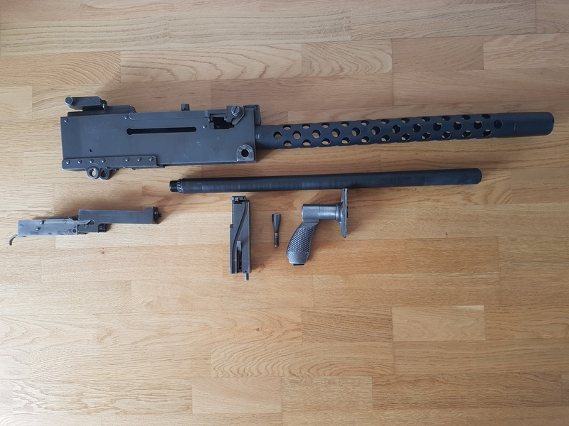 Browning M1919 A4 démontage et marquages. 20170919