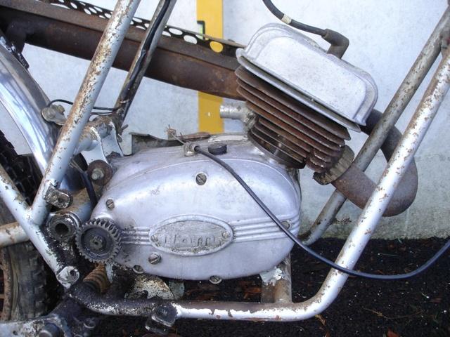 Documents sur Mondial 50cc Franco Morini. Moteur10