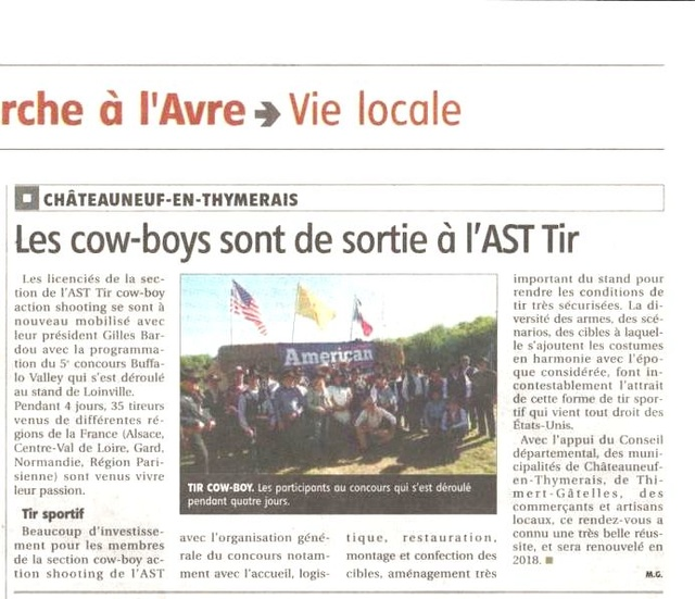"""BUFFALO VALLEY ""du 8 au 11 juin 2017 bulletin inscription - Page 3 Articl10"