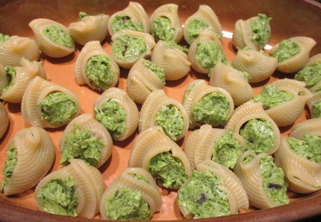 Escargots en coquilles de pâtes Img_6133