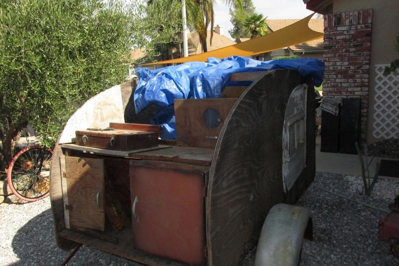 """1959 """"Scad A Bout"""" Teardrop trailer 20626510"""