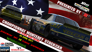 Championnat Monterey STOCKAR  [FINISH]
