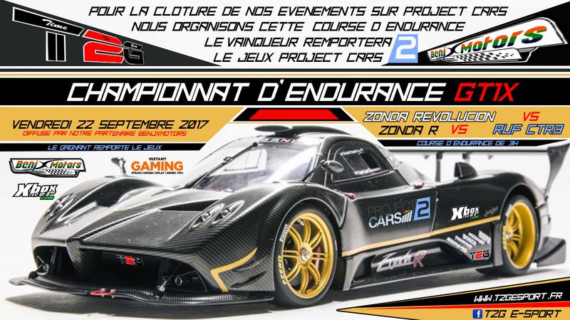 Inscription Endurance de SPA GT1X BY T2G Affich21