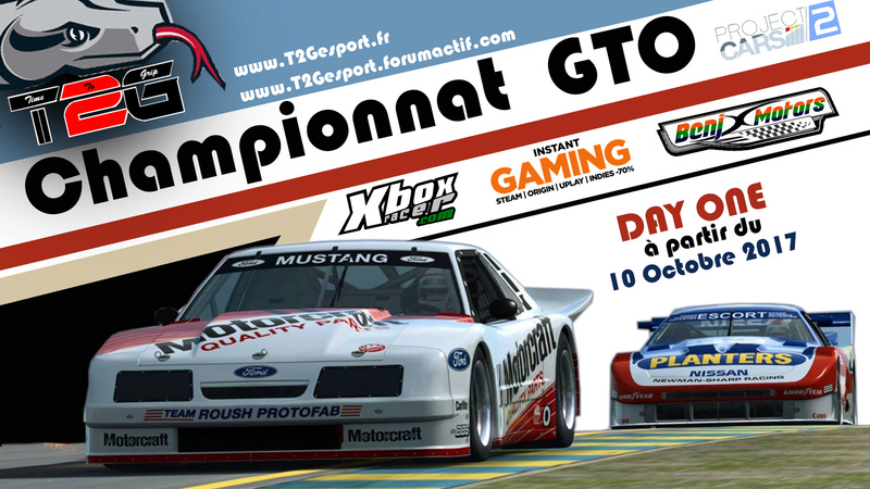 DAY ONE Championnat GTO BY T2G Affich24