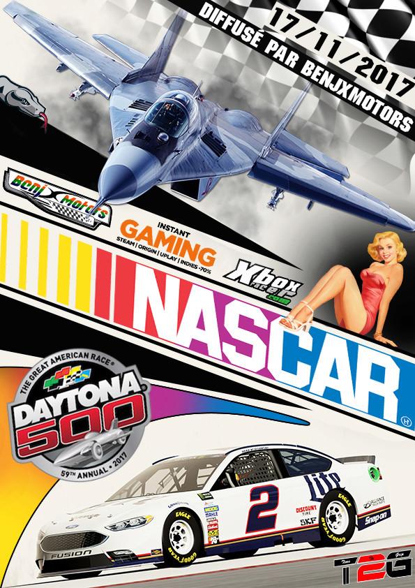 NASCAR DAYTONA 500 Affich26