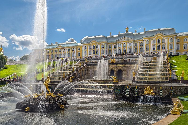 Peterhof, le Versailles russe 800px-10