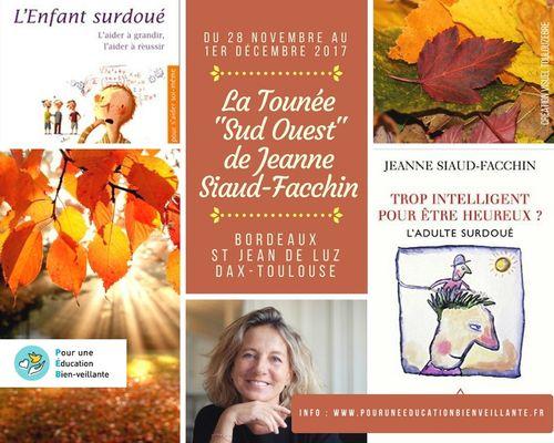 28 novembre : conférence de Jeanne Siaud-Facchin à Bordeaux + IRL Visuel10