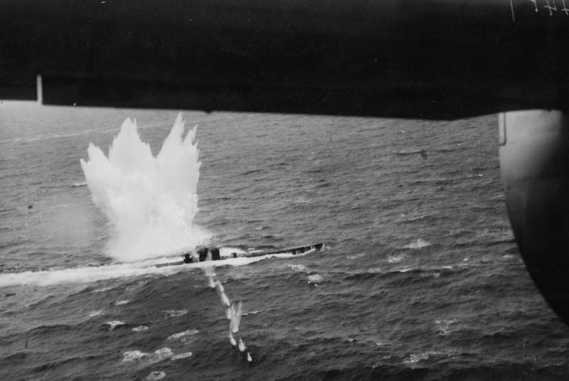 La fin des u-boot de l'escadre de Doenitz 10-u-810
