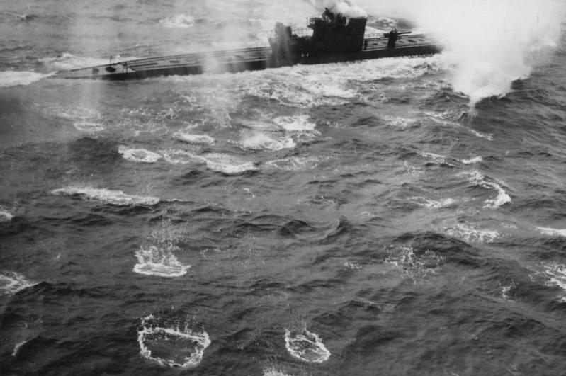 La fin des u-boot de l'escadre de Doenitz 12-u-811