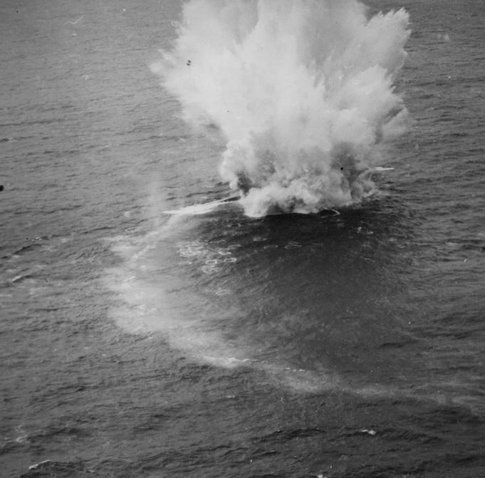 La fin des u-boot de l'escadre de Doenitz 13-u-811
