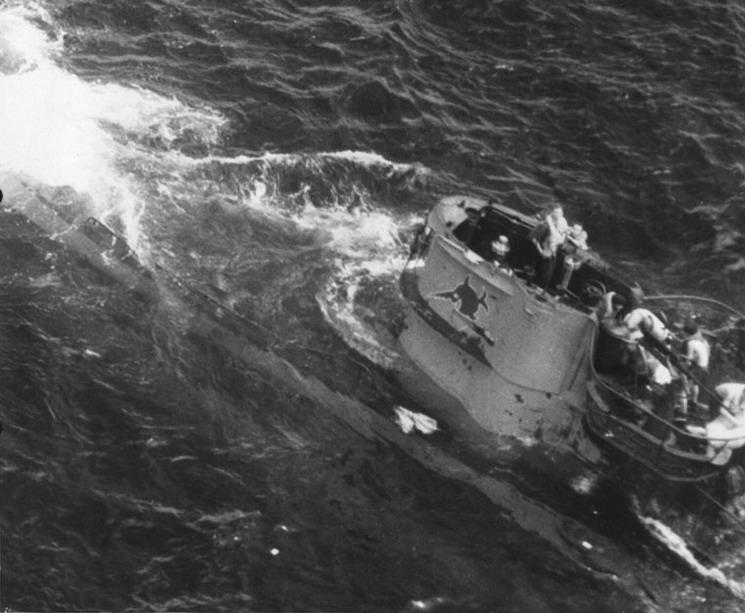 La fin des u-boot de l'escadre de Doenitz 5-u-6610