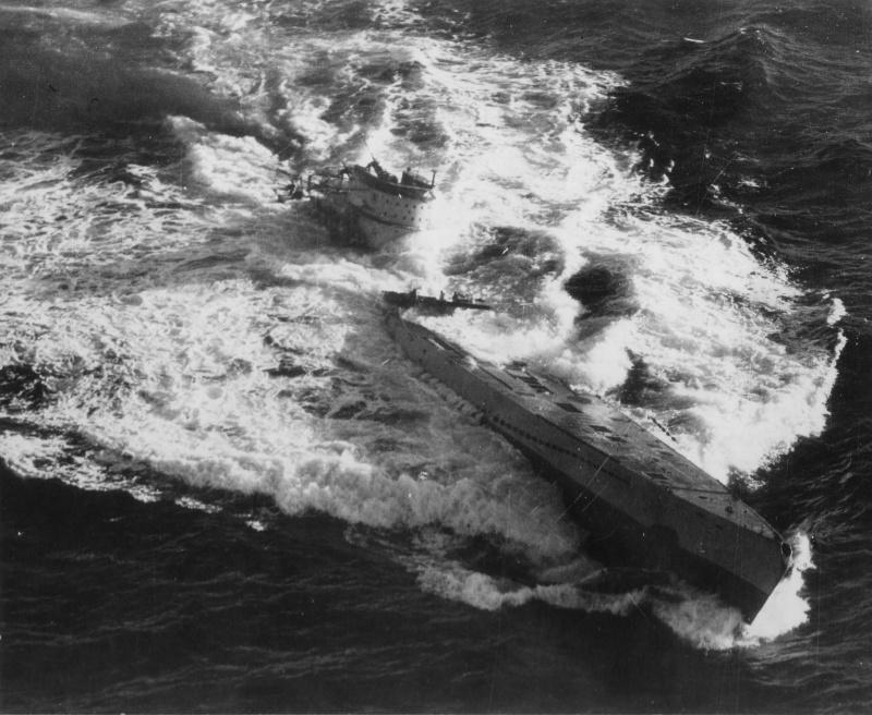 La fin des u-boot de l'escadre de Doenitz 6-u-1810
