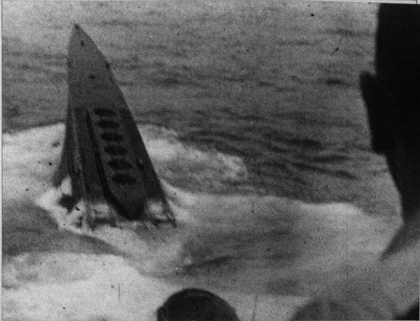 La fin des u-boot de l'escadre de Doenitz 7-u-2210
