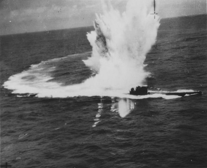 La fin des u-boot de l'escadre de Doenitz 9-u-2410
