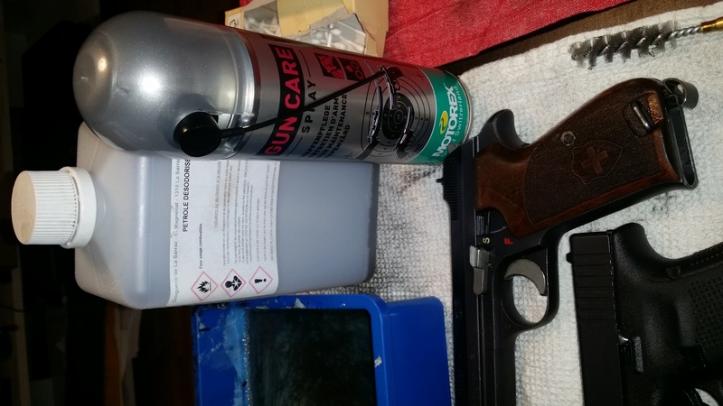 Nettoyage Glock 17 Nettoy12