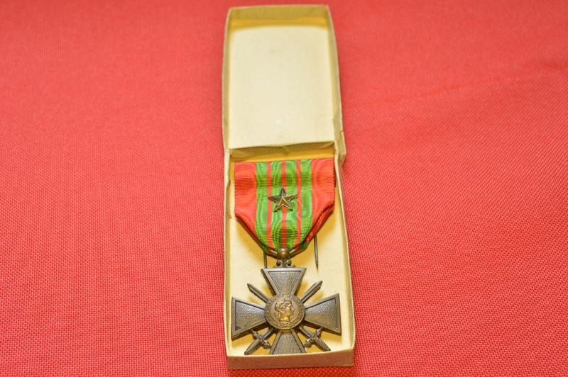 Fabrication croix de guerre 1939 _dsc0098