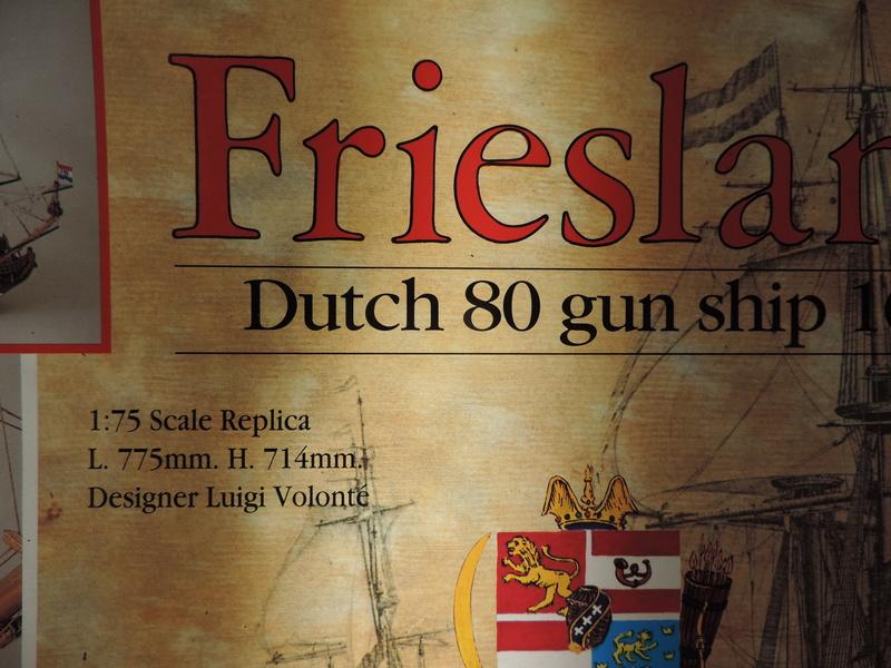 "Le ""Friesland"" au 1:75e de Mamoli. Dscn0437"