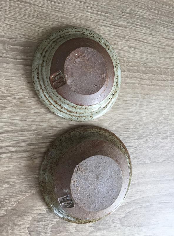 William (Bill) Hedge, Hedgecraft Pottery - WJH mark  Img_2725