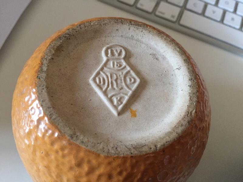 Stoneware marmalade pot Img_2916