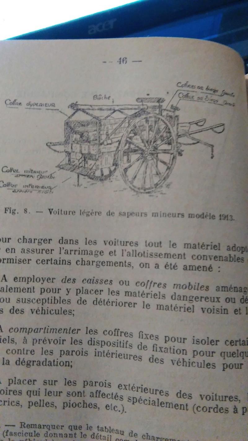 voiture légère de sapeurs mineurs modèle 1913 et fourgon à vivres modèle 1887 Img_2010