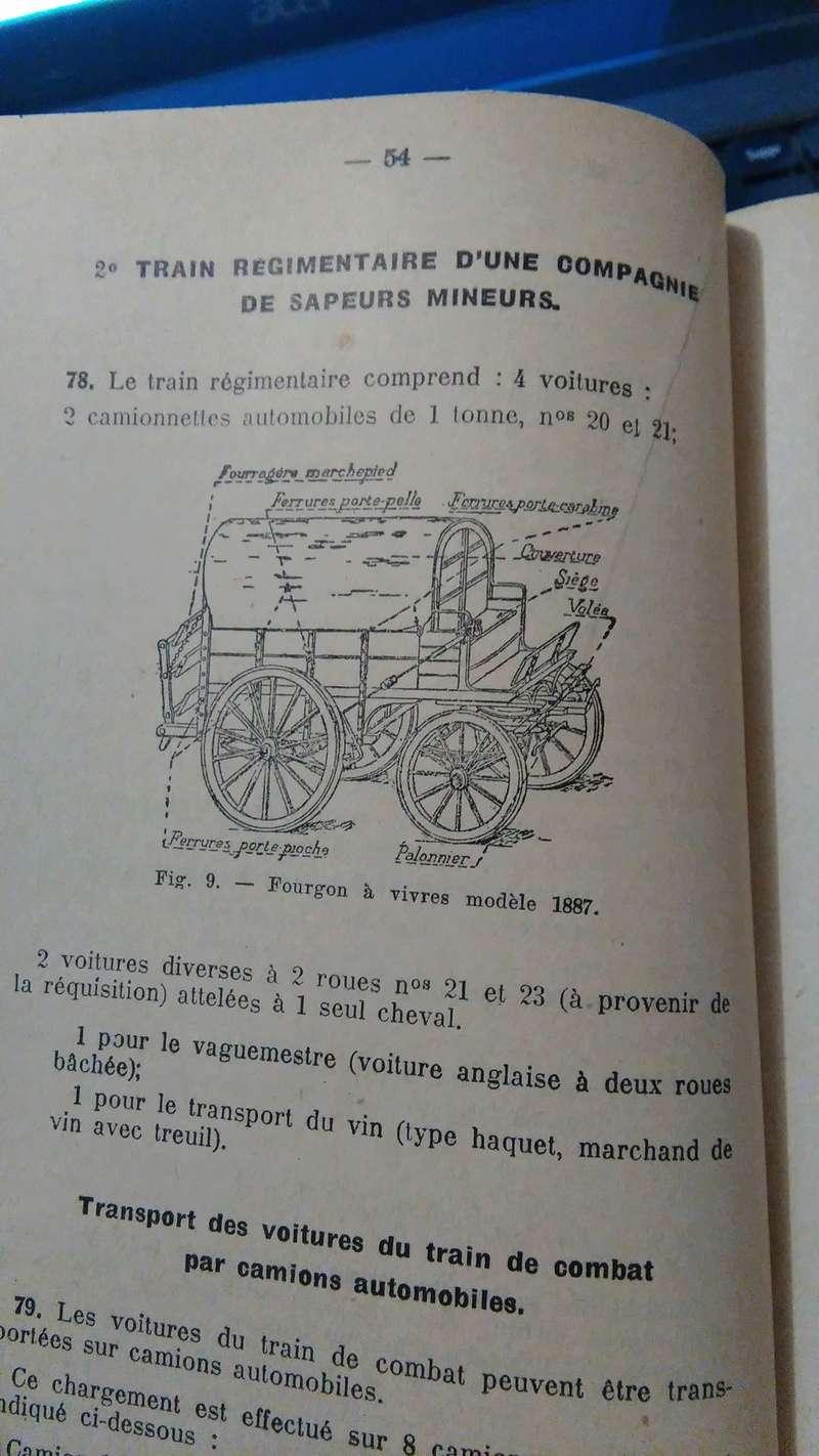 voiture légère de sapeurs mineurs modèle 1913 et fourgon à vivres modèle 1887 Img_2011