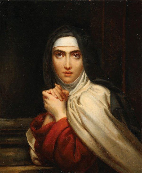 Vie de Ste Thérèse d'Avilla par Marcelle Auclair  Theres10