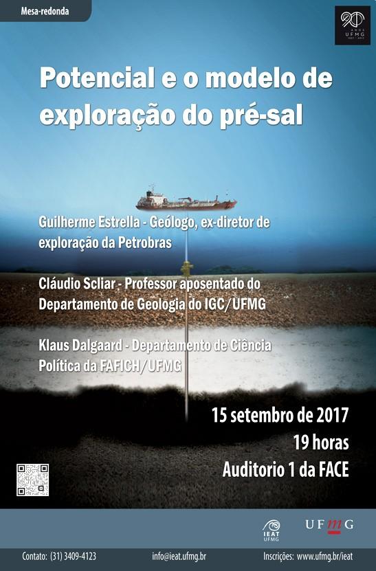 MESA REDONDA: POTENCIAL E MODELO DE EXPLORAÇÃO DO PRÉ-SAL Cartaz10