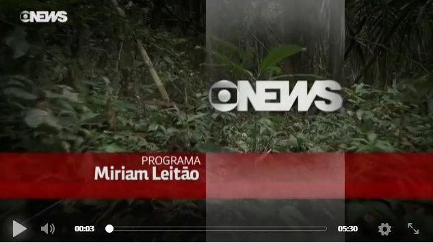 PROGRAMA MIRIAN LEITÃO-GLOBO NEWS- RENCA - 18/09/2017 COM O GEÓLOGO ONILDO JOÃO MARINI E PROCURADOR DANIEL AZEREDO Renca10