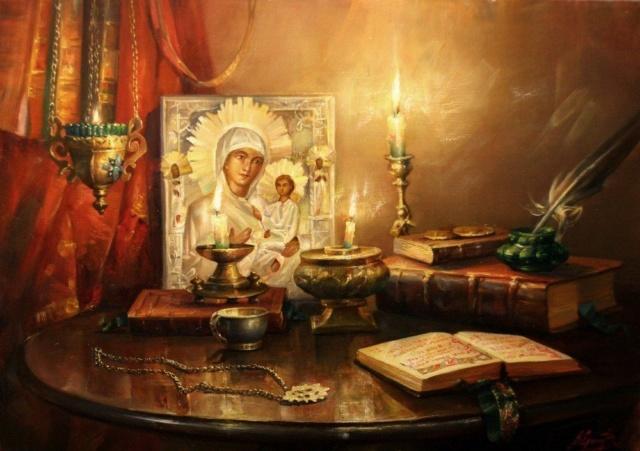 Сон Пресвятой Богородицы от многих болезней и недугов. 81139610