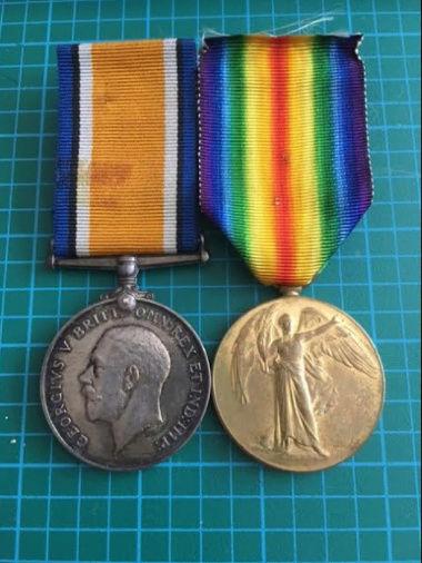 78th Battalion (Winnipeg Grenadiers) CEF War + Victory Pair Bodkin10