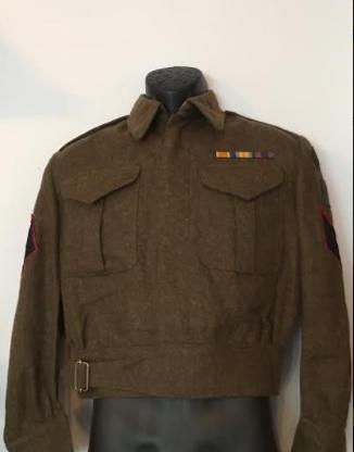 Victoria Rifles of Canada Battle Dress Vic110