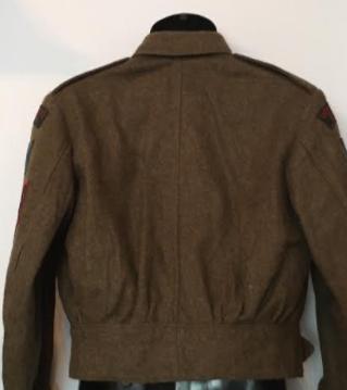 Victoria Rifles of Canada Battle Dress Vic710