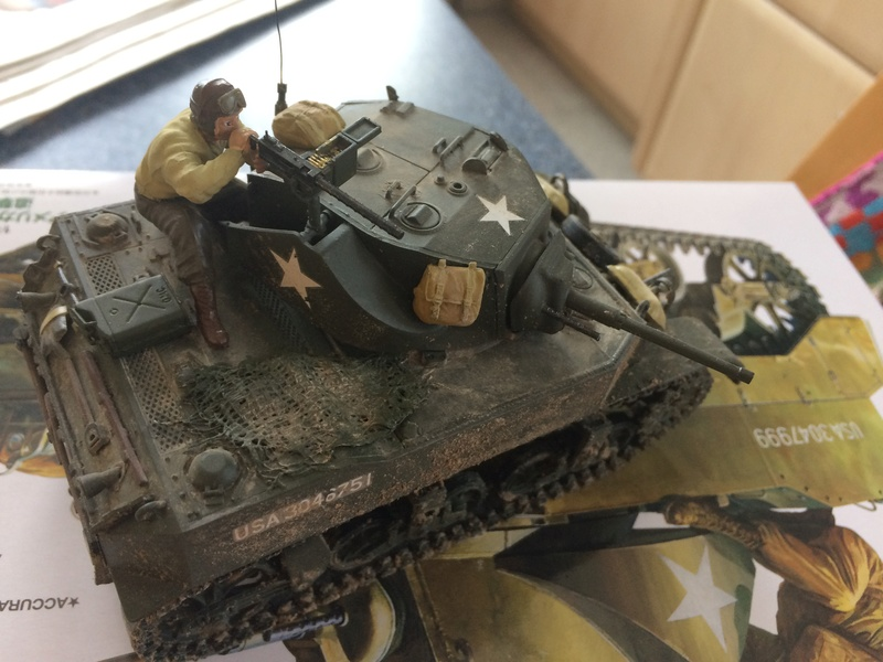 Char M5 Stuart Normandie 1944 1/35 Tamiya  Img_3915