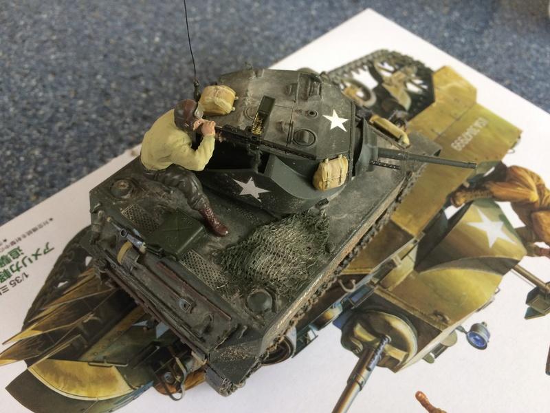 Char M5 Stuart Normandie 1944 1/35 Tamiya  Img_3918