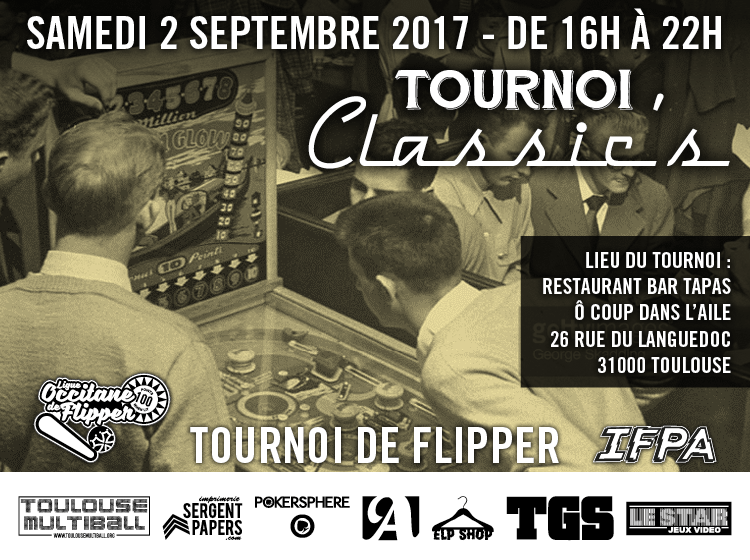 Tournoi Flipper Classic's du 2 septembre 2017 à Toulouse Forum-12