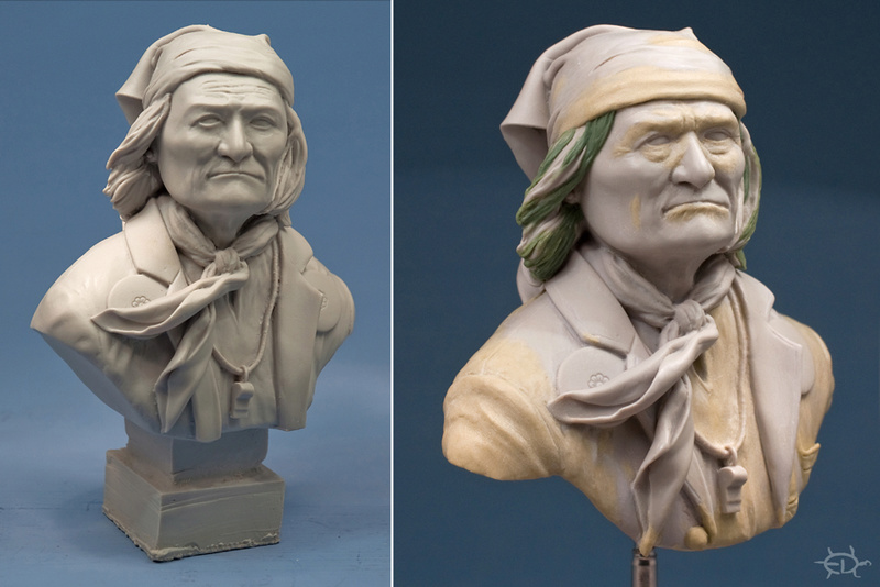 Buste de Geronimo 1/7 transformé (Terminé) Edan_021