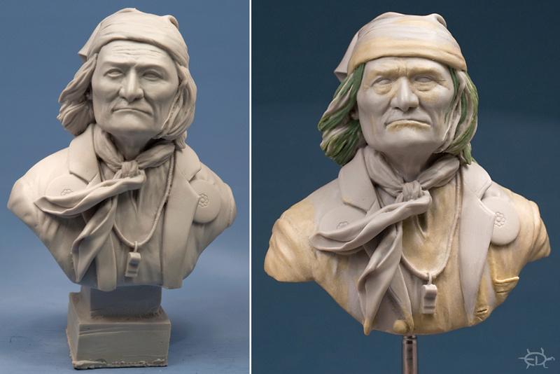 Buste de Geronimo 1/7 transformé (Terminé) Edan_022