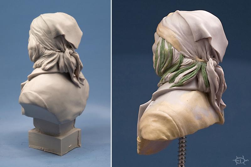 Buste de Geronimo 1/7 transformé (Terminé) Edan_128