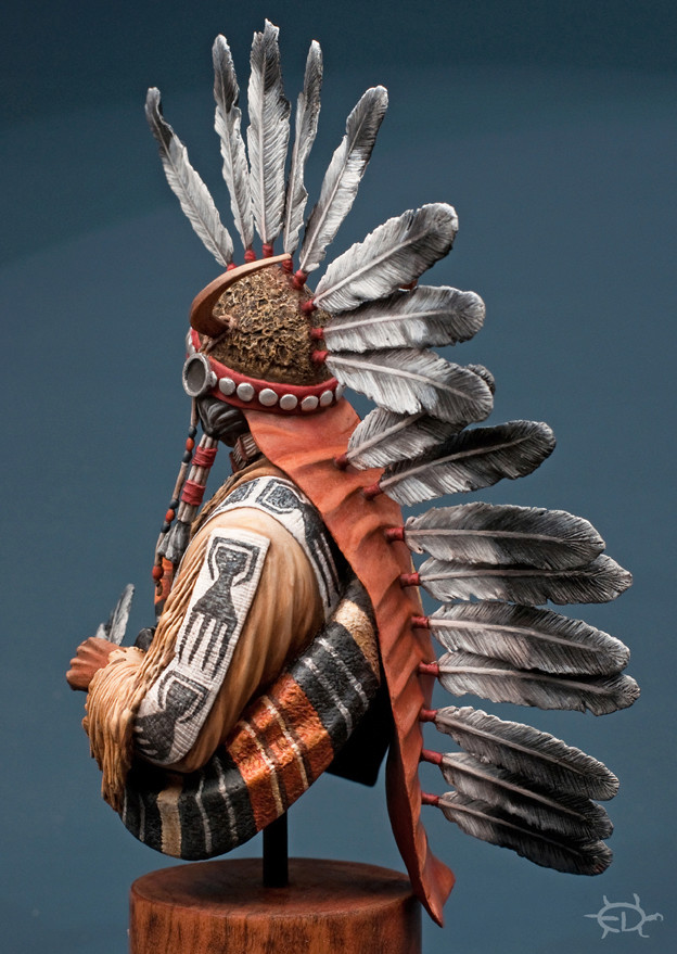 Buste Jicarilla Apache, un classique revisité (Fini !!!) - Page 2 Edan_315