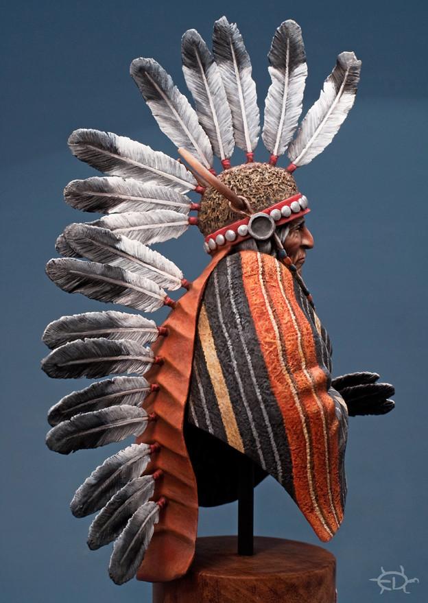 Buste Jicarilla Apache, un classique revisité (Fini !!!) - Page 2 Edan_317