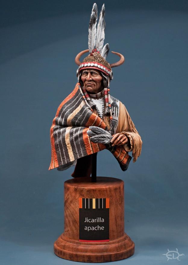 Buste Jicarilla Apache, un classique revisité (Fini !!!) - Page 2 Edan_413