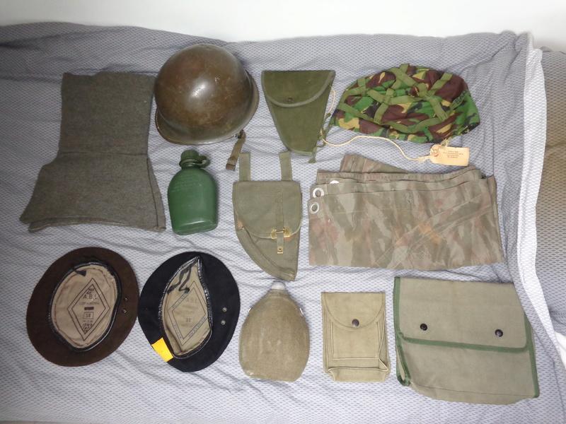 Some Belgian items, beret ID's needed Dsc03835