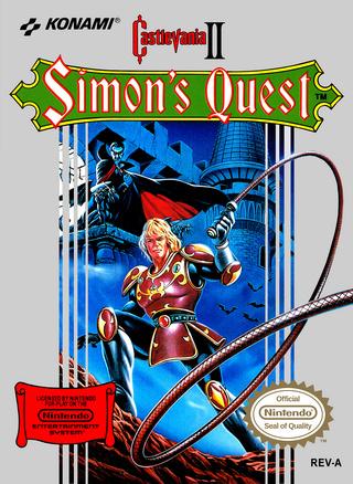 [NES] Castlevania II: Simon's Quest Castle11