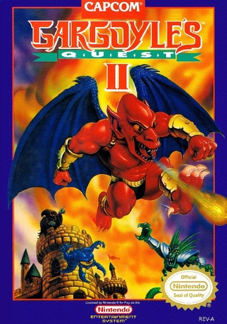 [NES] Gargoyle's Quest II Gargoy10