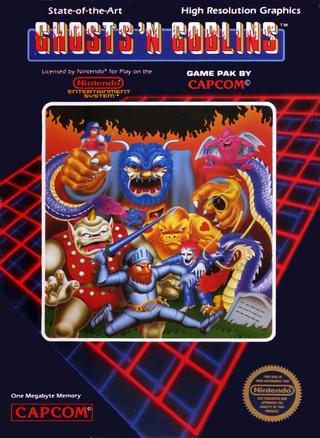 [NES] Ghosts'n Goblins Ghosts10